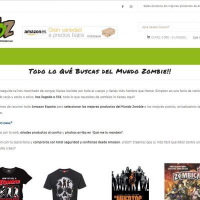 TodoDeZombie - Tienda online con WooCommerce