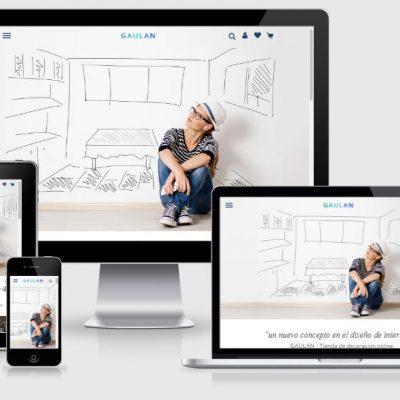 Gaulan - Tienda online con PrestaShop