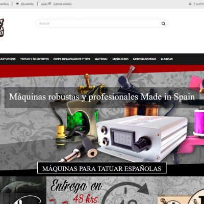 Juanpe Tattoo Supplies - Tienda online con PrestaShop