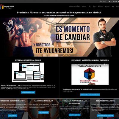 Precission Fitness - Venta online con WooCommerce