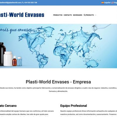 Plasti-World Envases - Tienda online con PrestaShop